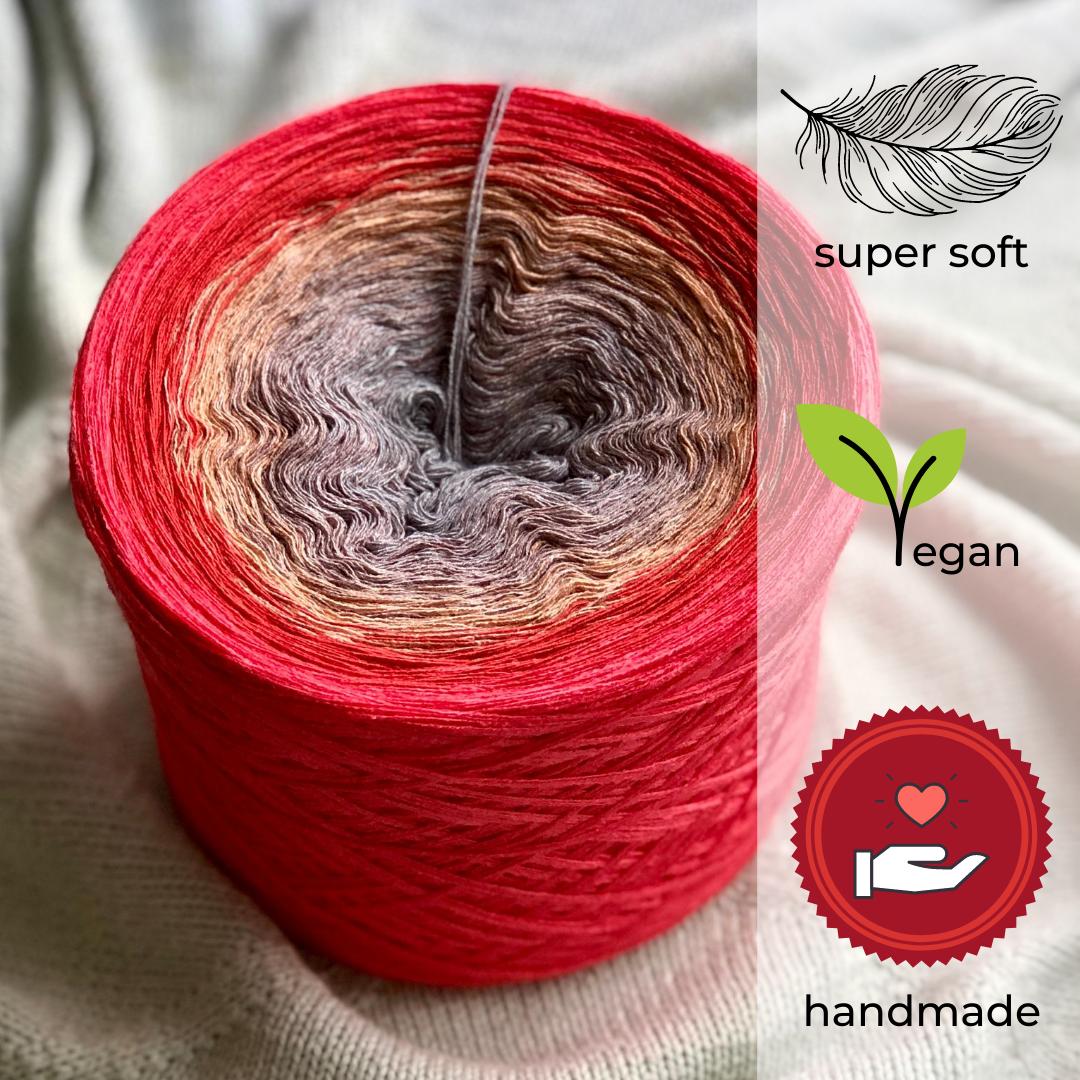 Woolpedia® Colors Mauerblümchen gradient yarncake (modal)