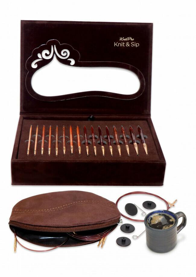 KnitPro Knit & Sip Gift-set Limited Edition