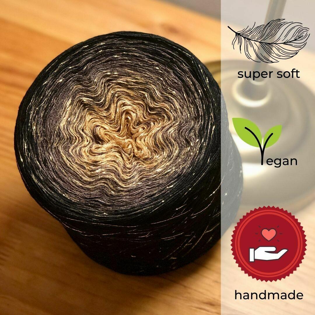 Woolpedia® Colors Kobold glitter yarncake (cotton-mix)