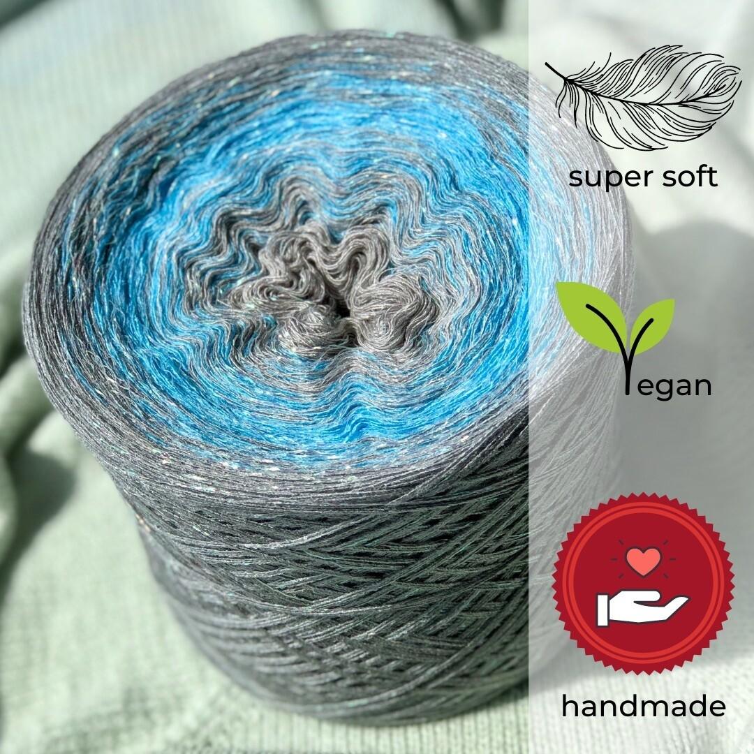 Woolpedia® Colors Wolkendecke II glitter yarncake (cotton-mix)