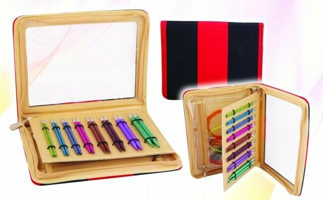 KnitPro Zing Deluxe interchangeable circular knitting needles set