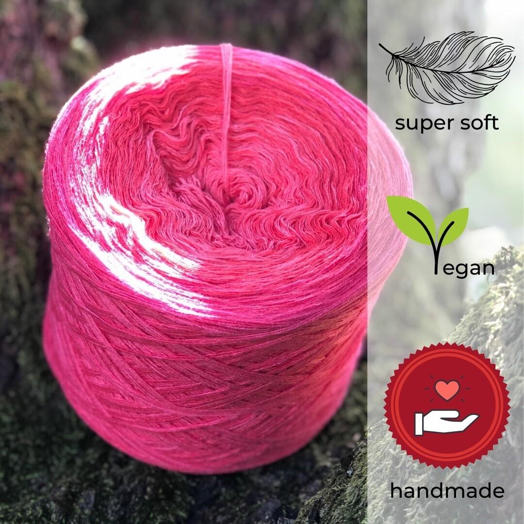 Woolpedia® Colors Himbeertraum Farbverlaufsgarn (Modal)