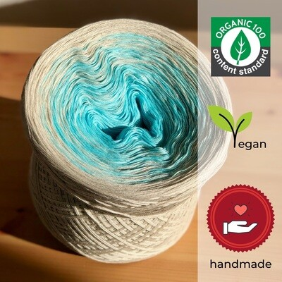 Woolpedia® Colors Miami organic gradient yarncake (pure cotton)