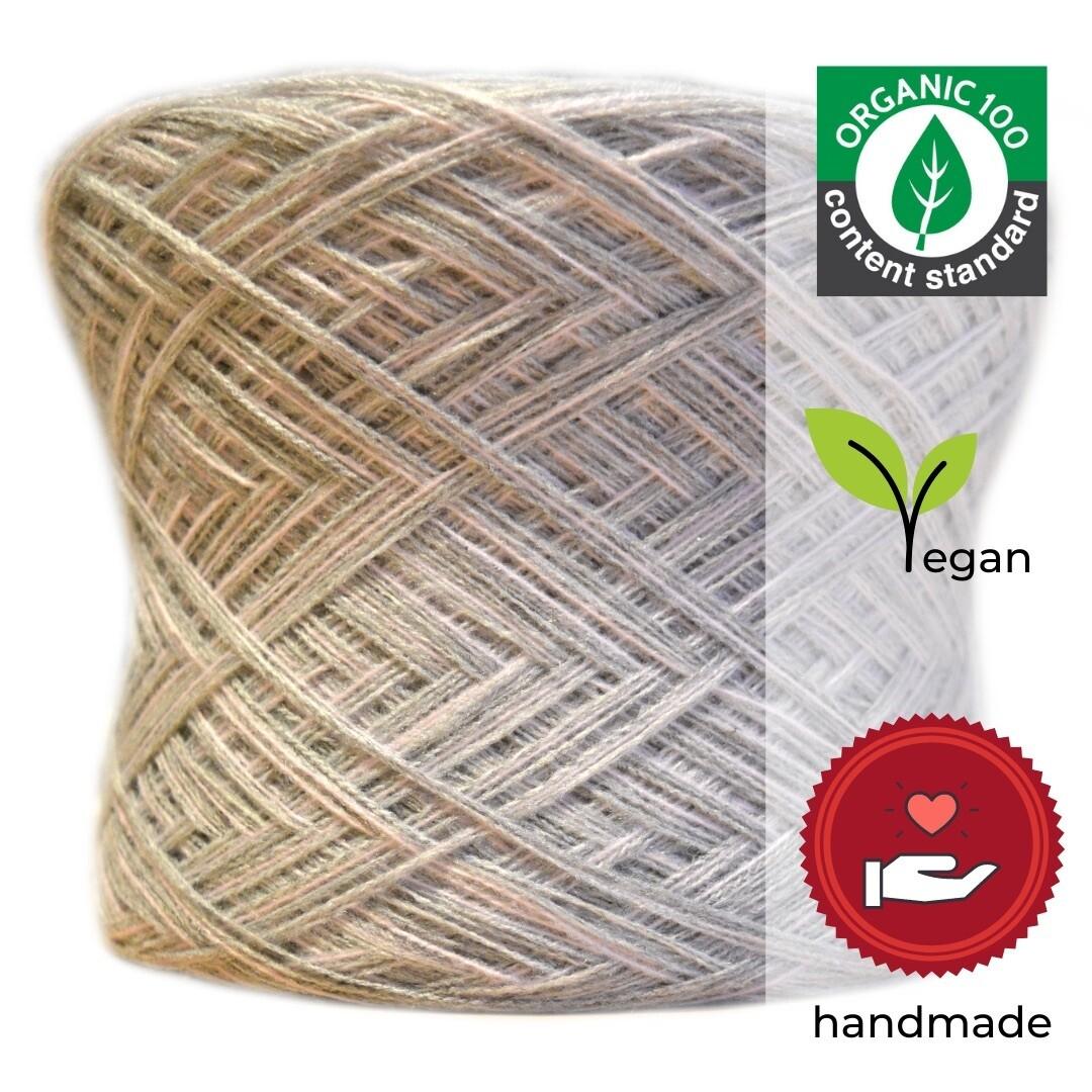 Woolpedia® Colors Michelle organic designer yarncake (pure cotton)