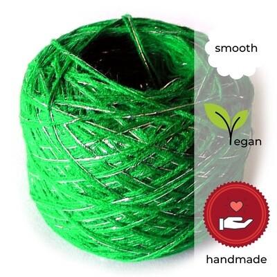 Woolpedia® Colors Tannenbaum glitter yarncake (cotton-mix)