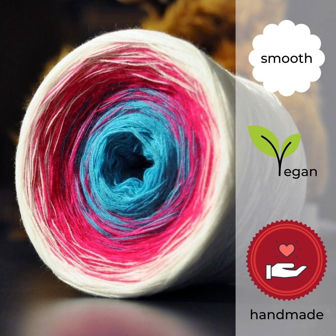 Woolpedia® Colors Bubble Gum Farbverlaufsgarn (Baumwoll-Mix)