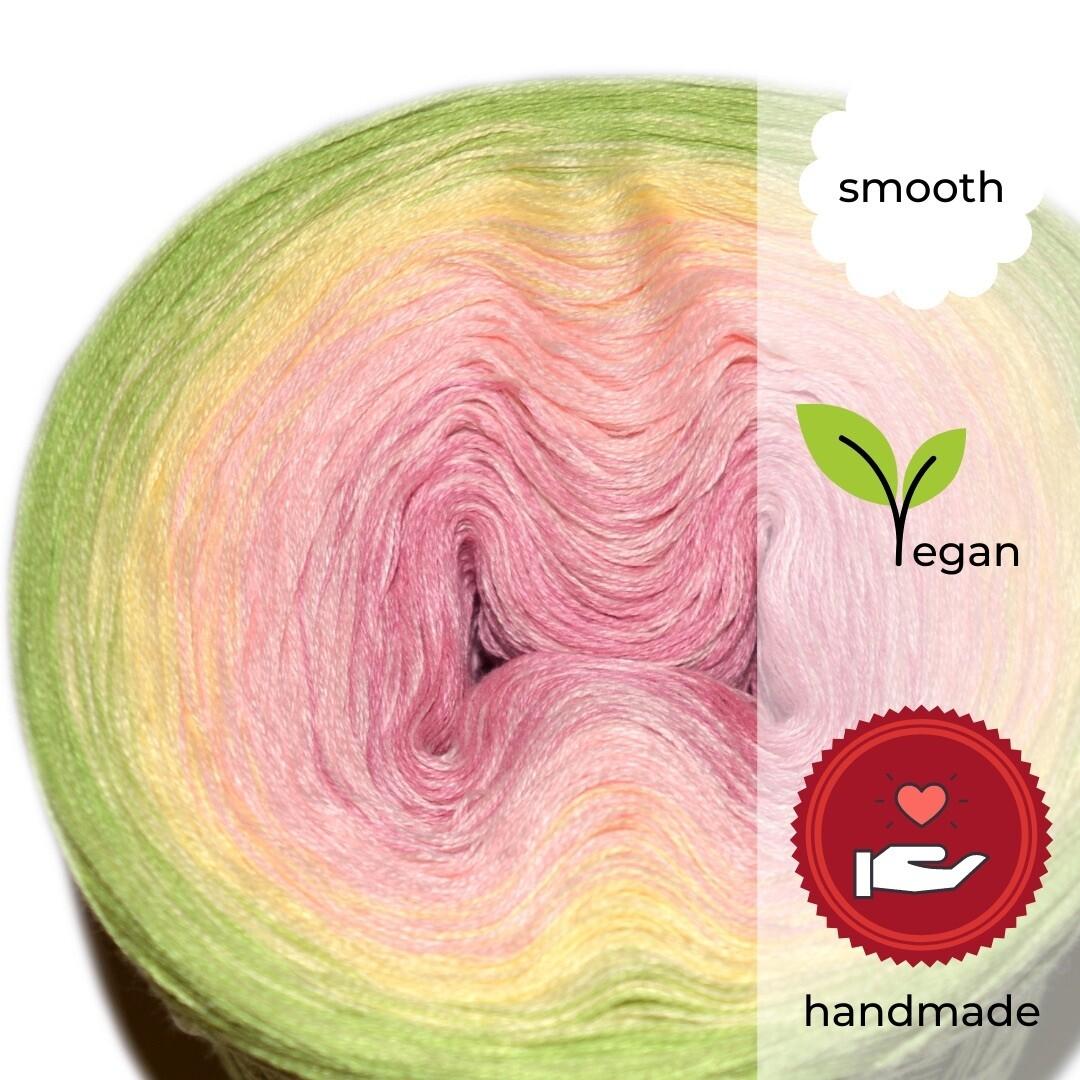 Woolpedia® Colors Orchidee Farbverlaufsgarn (Baumwoll-Mix)