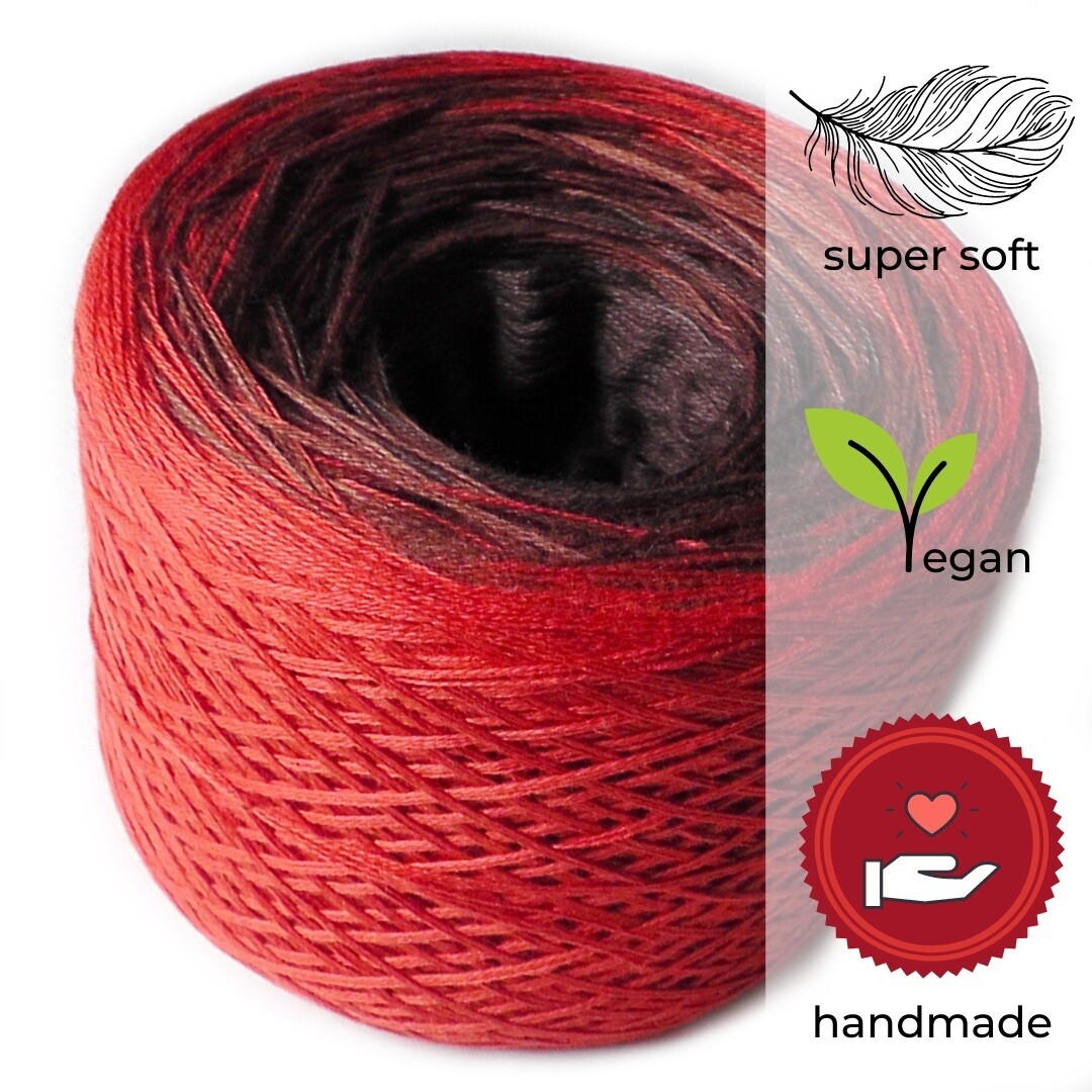 Woolpedia® Colors Chilly Chocolate gradient yarncake (modal)