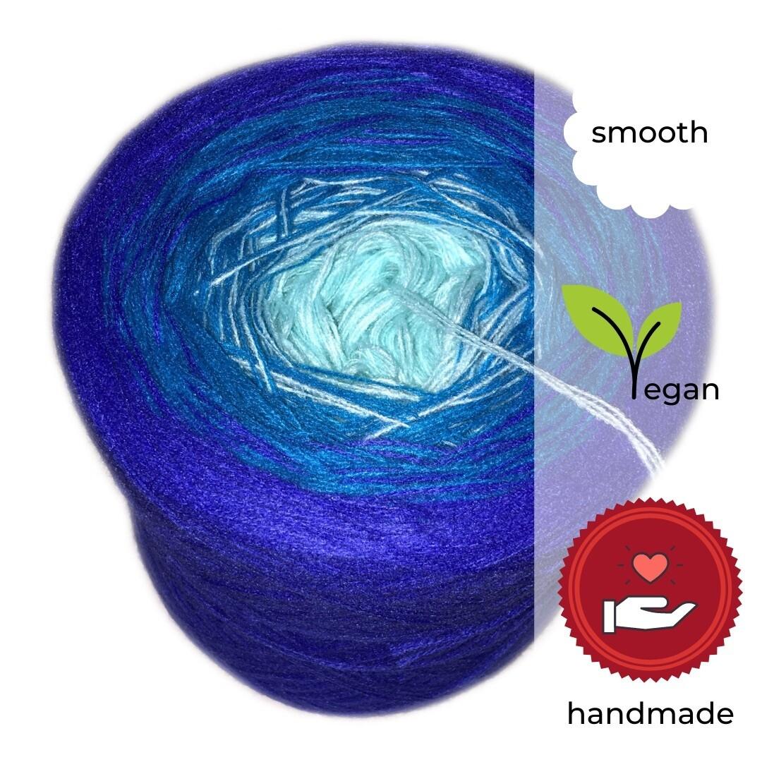 Woolpedia® Colors Enzian Farbverlaufsgarn (Baumwoll-Mix)