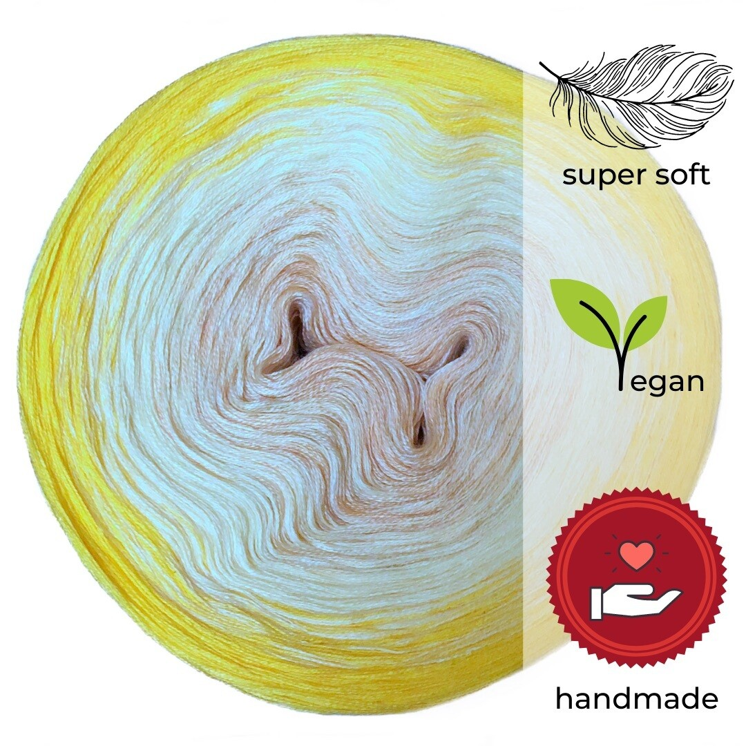Woolpedia® Colors Lemon Tree gradient yarncake (modal)