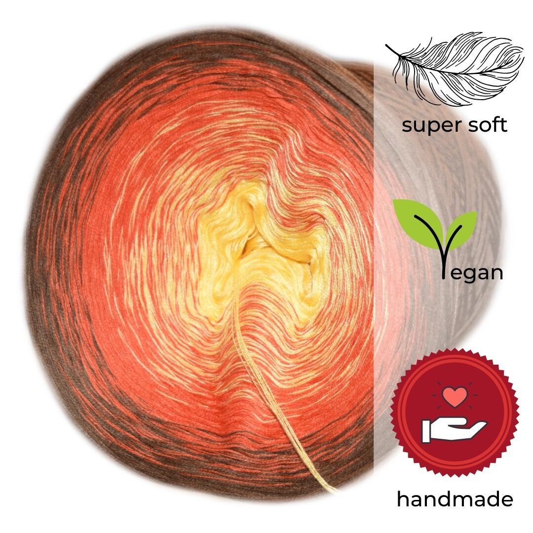 Woolpedia® Colors Vulkan gradient yarncake (modal)