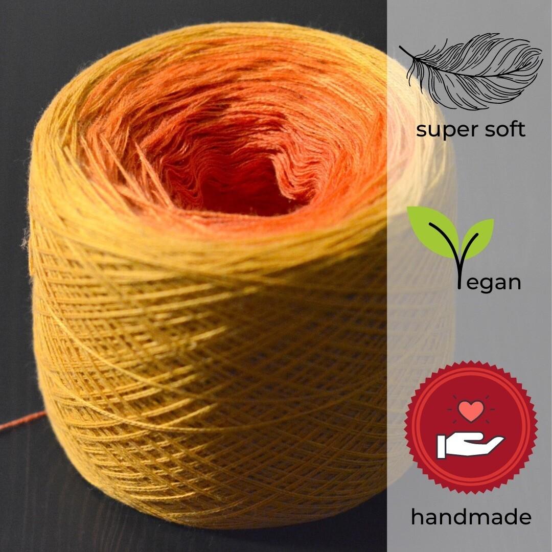 Woolpedia® Colors Golden Sun gradient yarncake (modal)