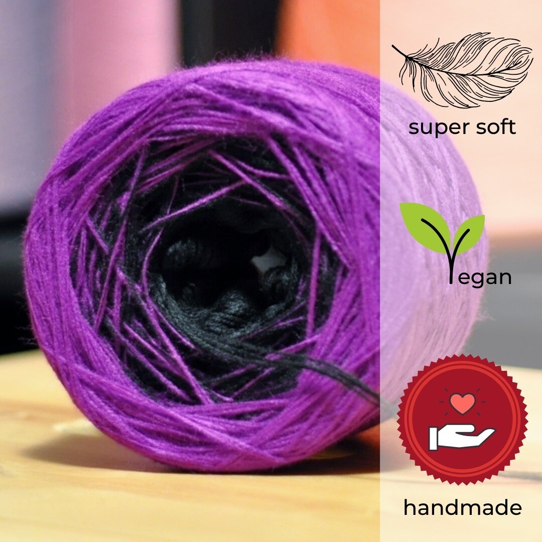Woolpedia® Colors Purple Rain gradient yarncake (modal)