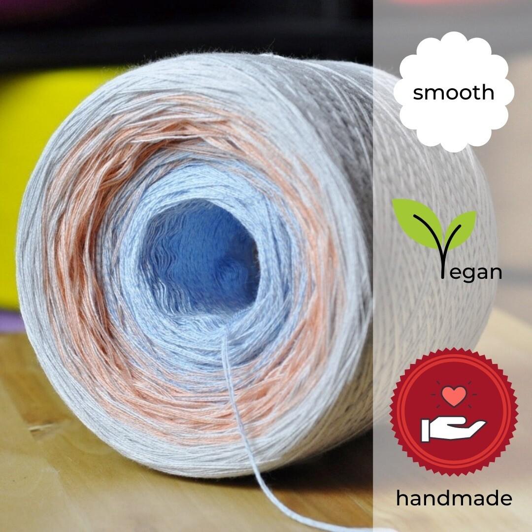 Woolpedia® Colors Korallenriff gradient yarncake (cotton-mix)
