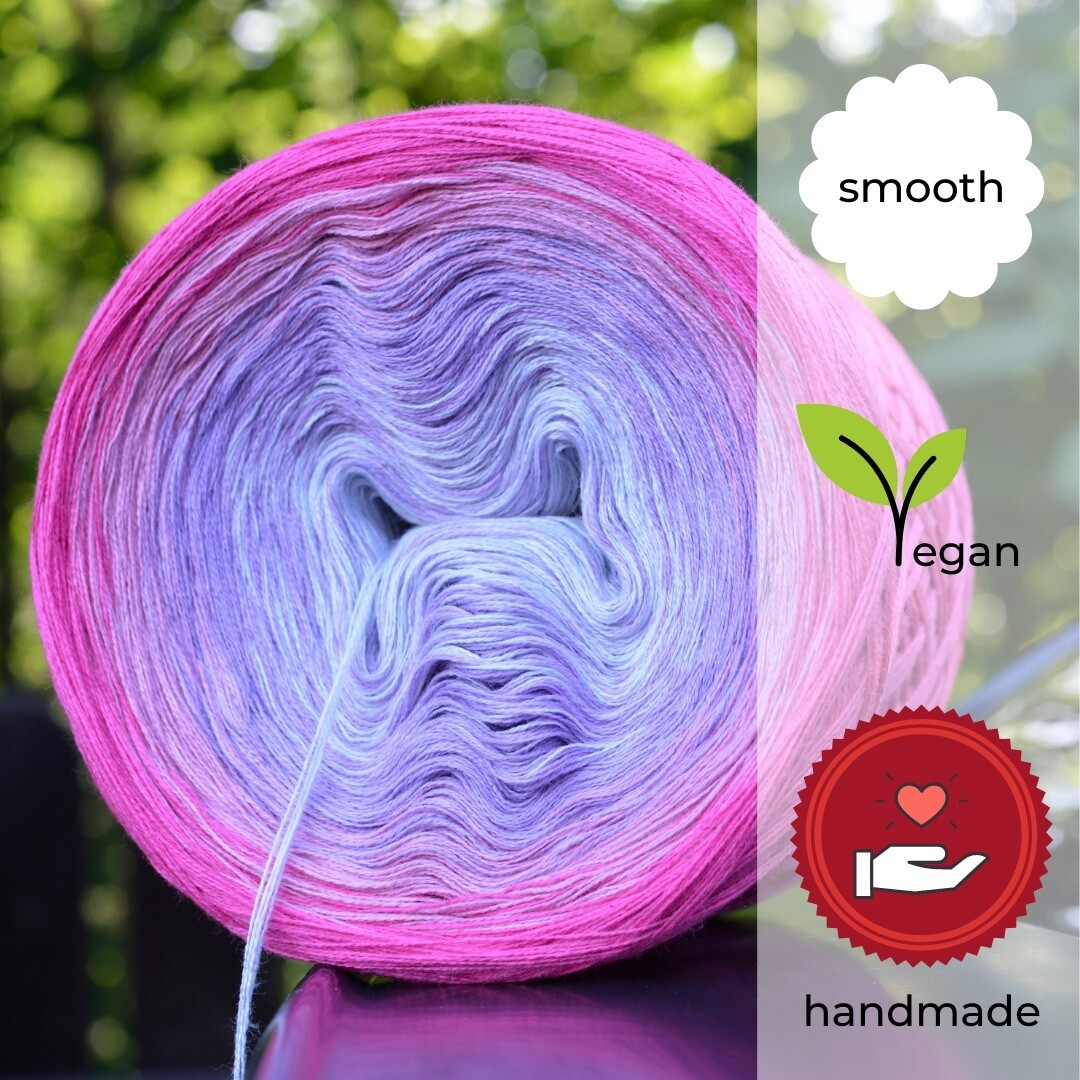 Woolpedia® Colors Sommernachtstraum gradient yarncake (cotton-mix)