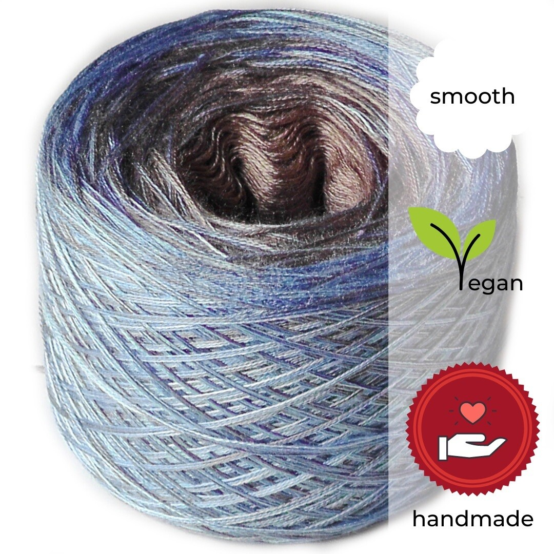 Woolpedia® Colors Brandung yarncake (cotton-mix)