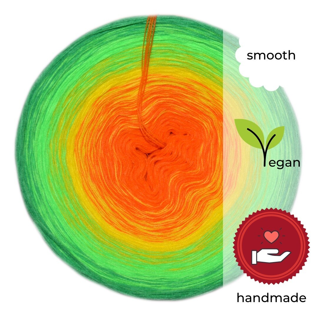 Woolpedia® Colors Gute Laune gradient yarncake (cotton-mix)