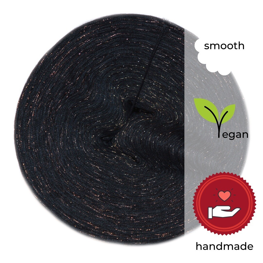Woolpedia® Colors Black Pearl Designer yarn (cotton-mix)