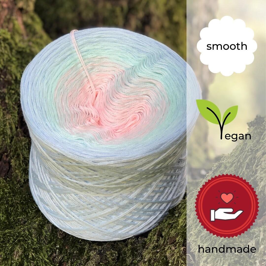 Woolpedia® Colors Lobelia gradient yarncake (cotton-mix)