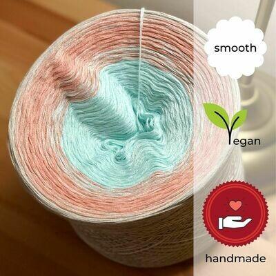 Woolpedia® Colors Lotusblüte gradient yarncake (cotton-mix)