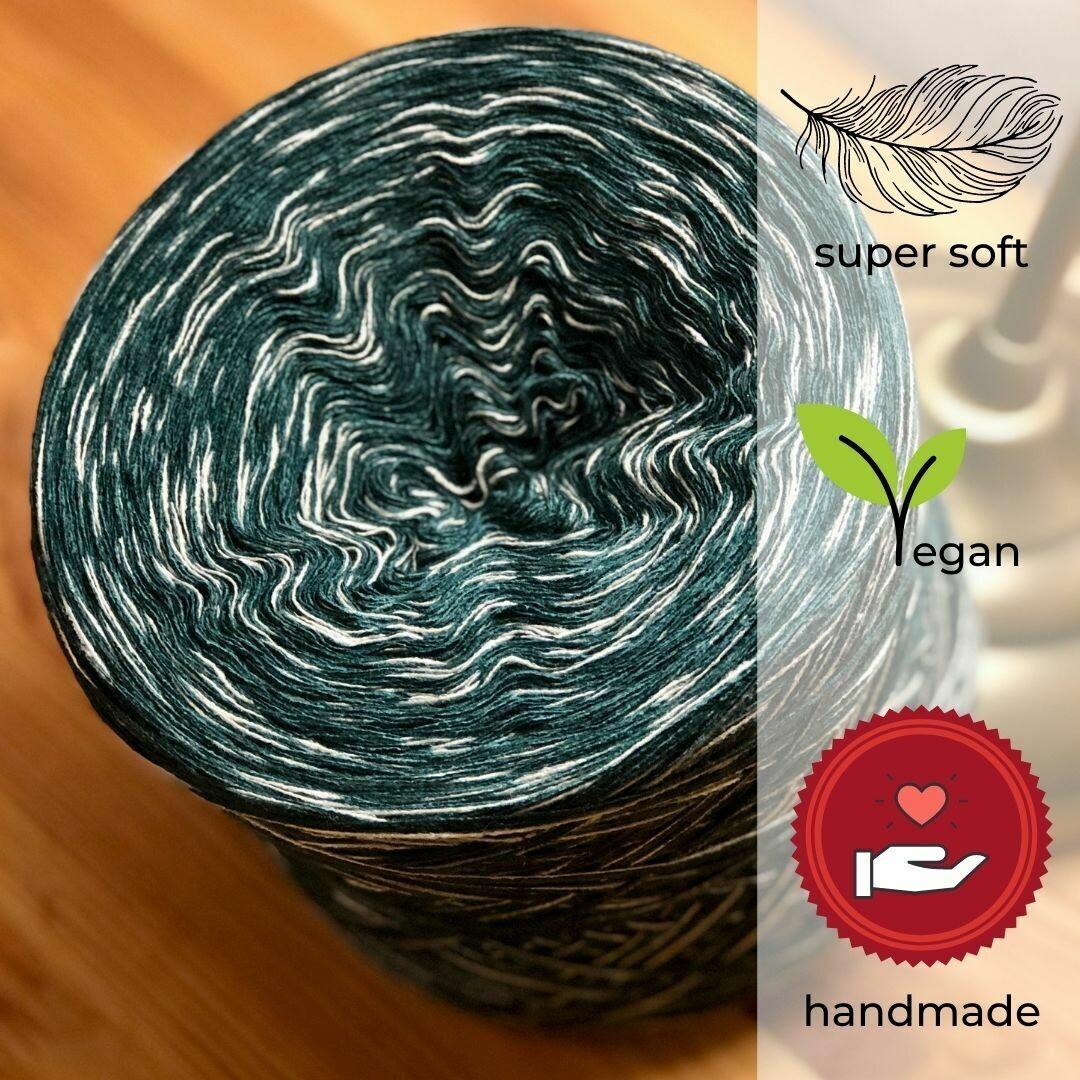 Woolpedia® Colors Fichte gradient yarncake (cotton-mix)