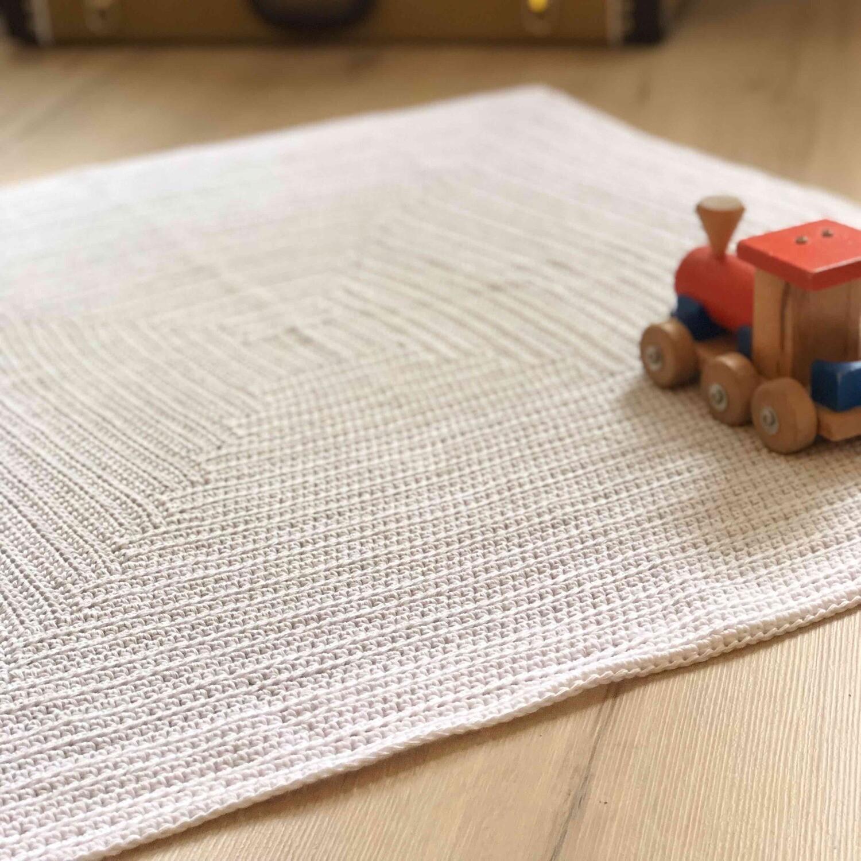 Blanket Gipfel crochet pattern PDF - Woolpedia®
