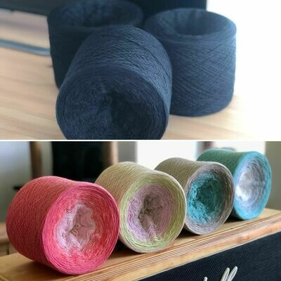 Woolpedia® Colors Sound of the Ocean - full yarn set - (modal) Lace - 2ply 20100m