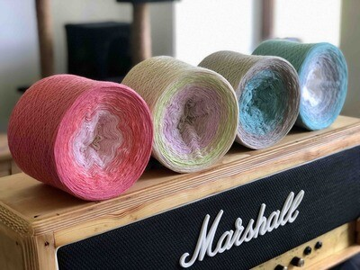 Woolpedia® Colors Sound of the Ocean - series - (modal) Lace - 2ply 12000m