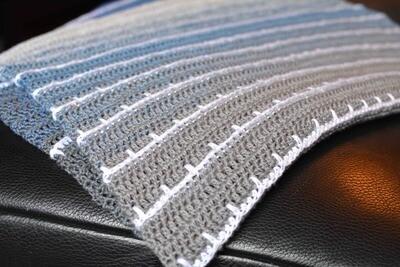 Baby blanket Leonardo crochet pattern PDF - Woolpedia®