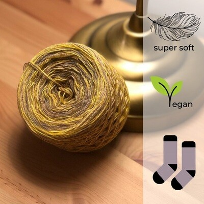 Woolpedia® Socks Banana - modal gradient sock yarn