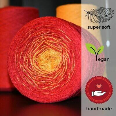 Woolpedia® Colors Fire gradient yarncake (modal)