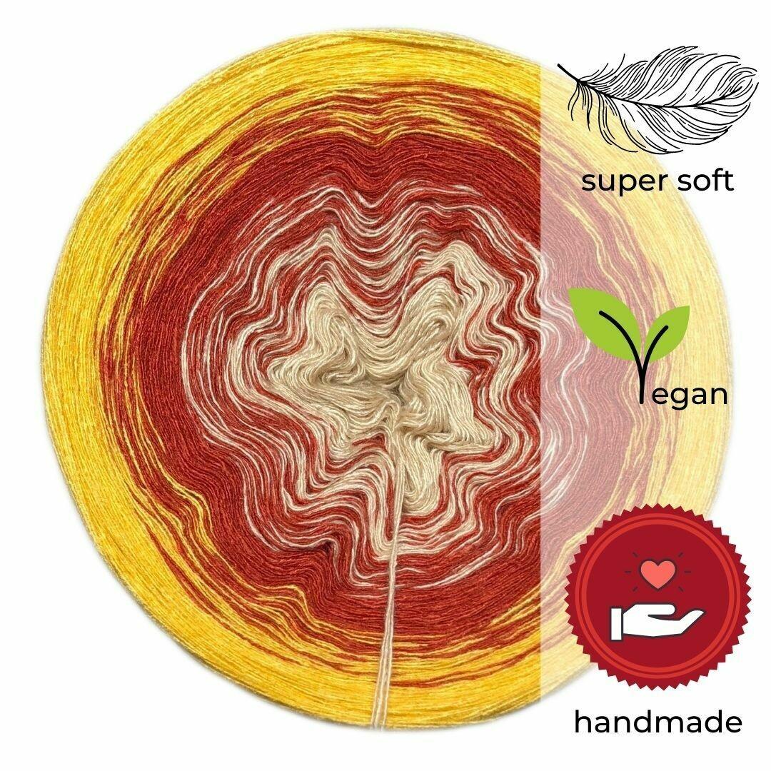 Woolpedia® Colors India gradient yarncake (modal)