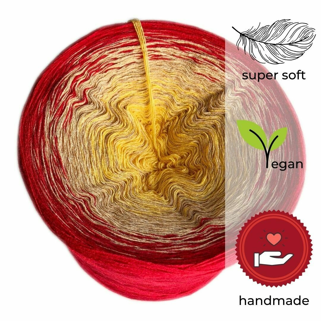 Woolpedia® Colors Orient gradient yarncake (modal)