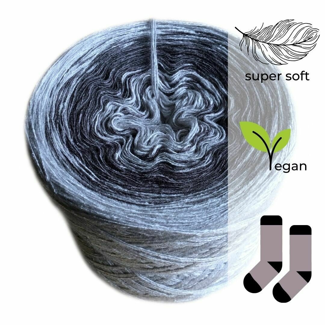 Woolpedia® Socks Stone - modal gradient sock yarn