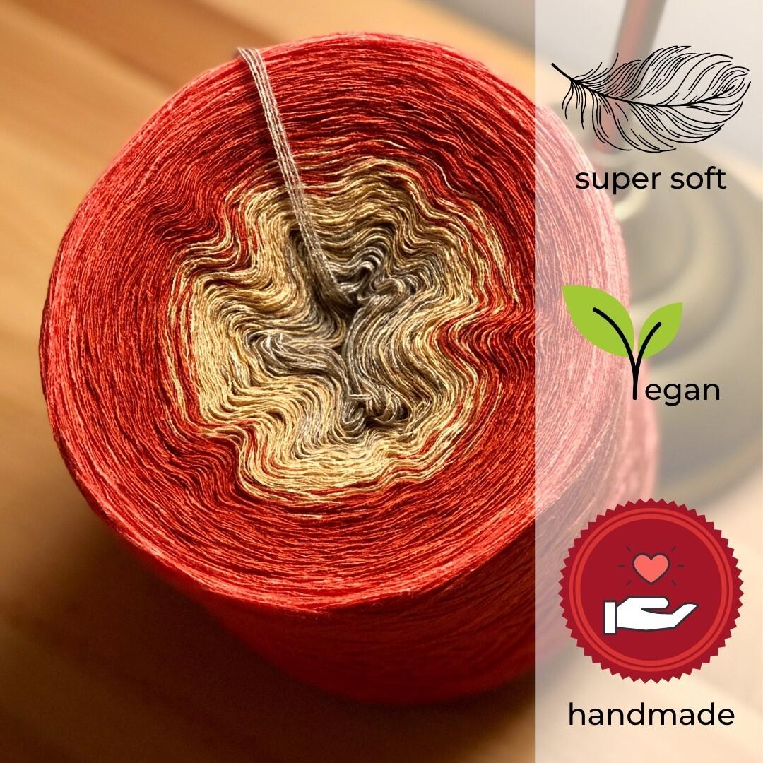 Woolpedia® Colors Lima gradient yarncake (modal)