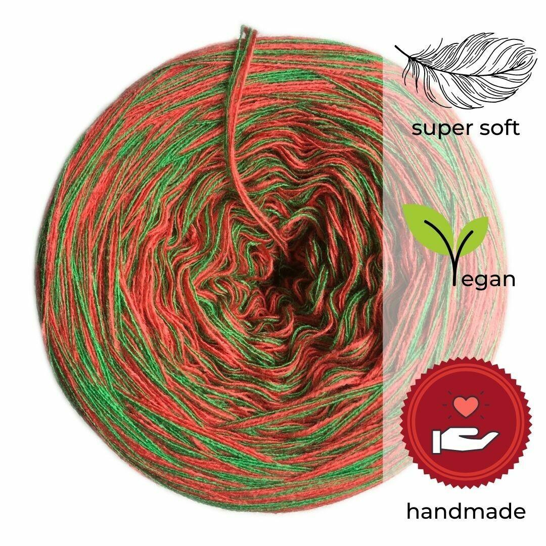 Woolpedia® Colors Zauberwald gradient yarncake (cotton-mix)