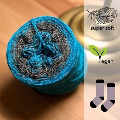 Woolpedia® Socks Cobalt - modal gradient sock yarn