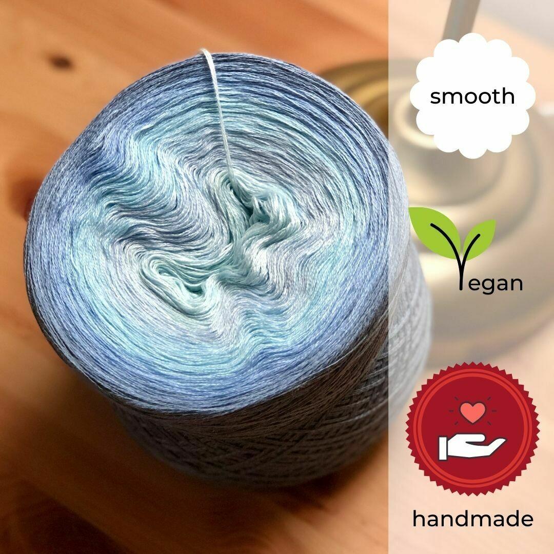 Woolpedia® Colors Water Farbverlaufsgarn (Baumwoll-Mix)