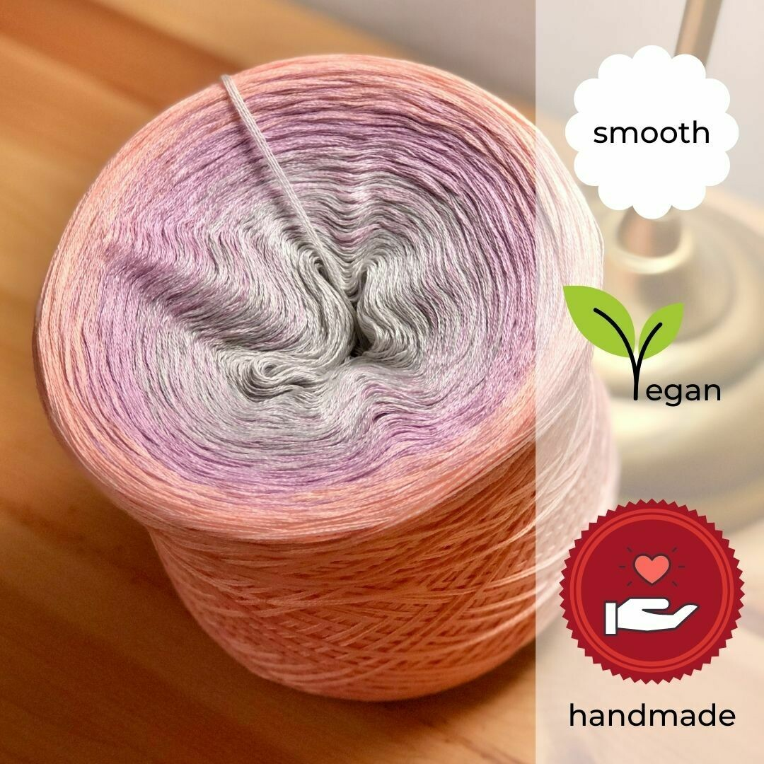 Woolpedia® Colors Sweet Flamingo gradient yarncake (cotton-mix)