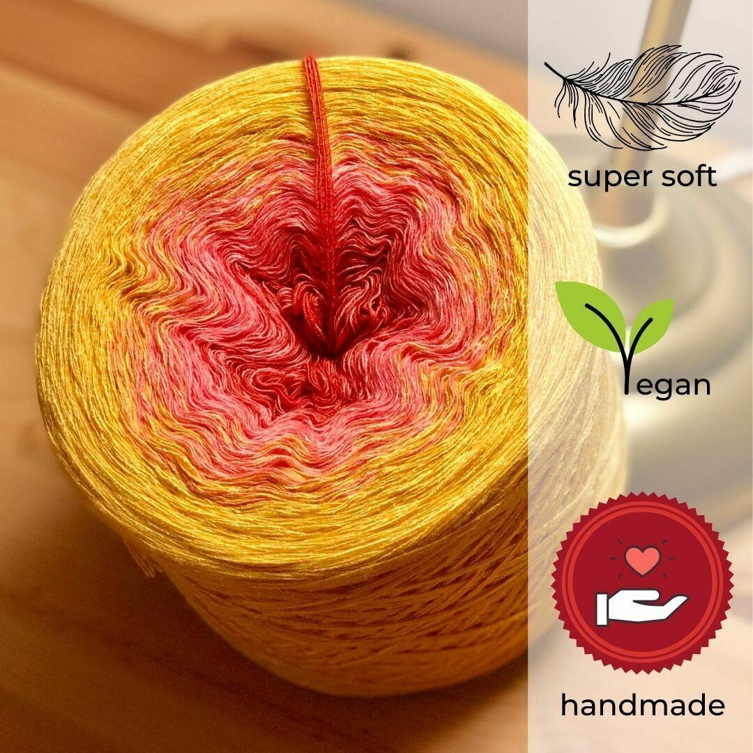 Woolpedia® Colors Golden Sun Farbverlaufsgarn (Modal)