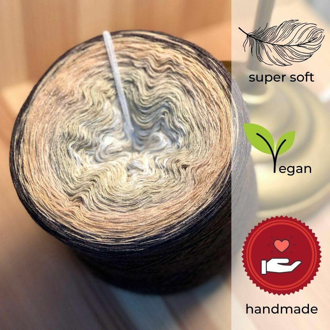 Woolpedia® Colors Caffè Latte gradient yarncake (modal)