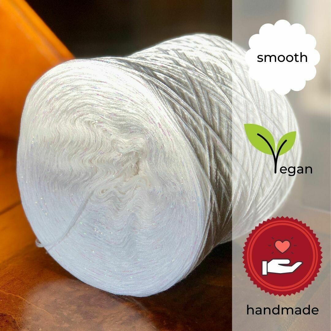 Woolpedia® Colors Wedding glitter yarncake (cotton-mix)