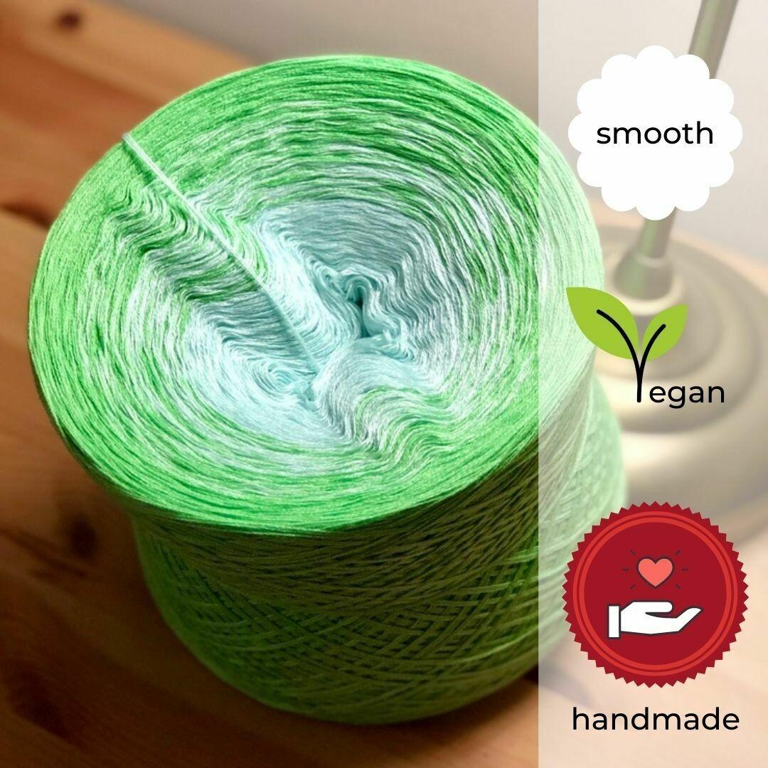 Woolpedia® Colors Lemon Grass gradient yarncake (cotton-mix)