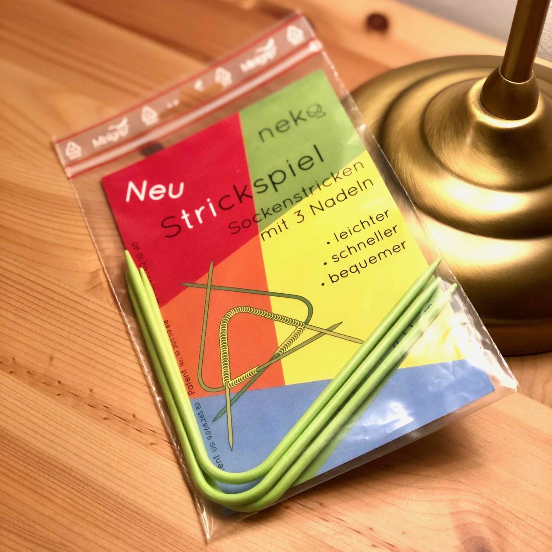 Neko double pointed sock needles