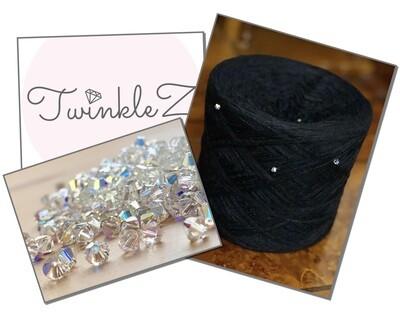 Woolpedia® TwinkleZ Swarovski Black (modal)