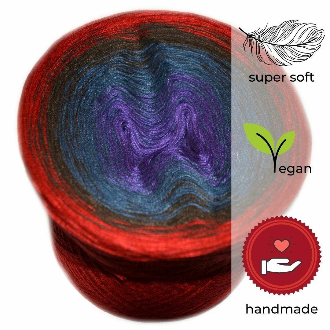 Woolpedia® Colors Elmo's Fire gradient yarncake (modal)