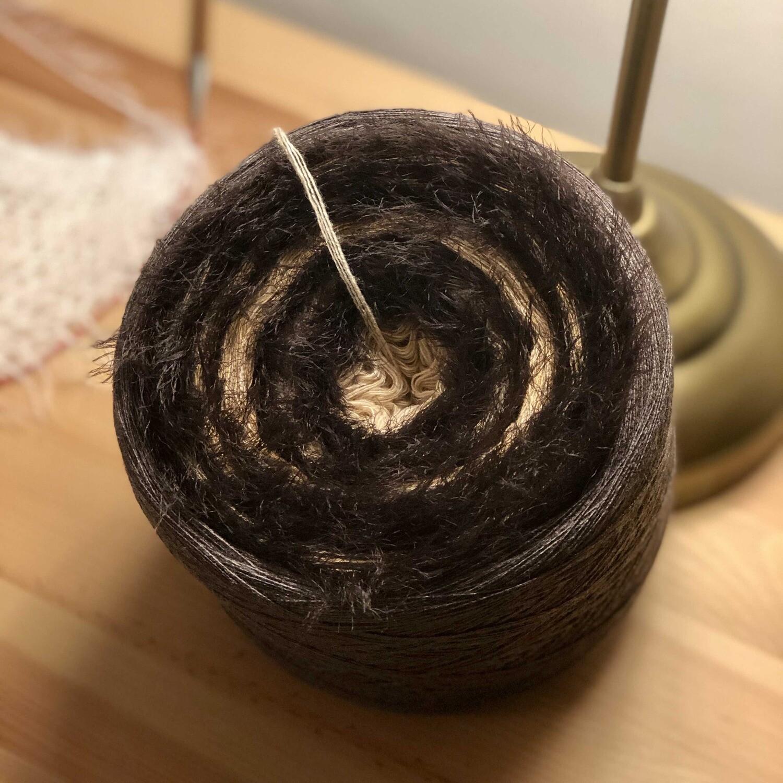 Woolpedia® Milano Tiramisu 4ply fluffy yarncake (modal)