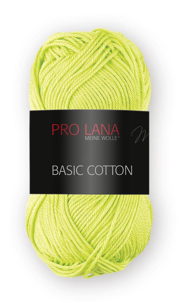 Pro Lana Basic Cotton 50g - shiny cotton yarn