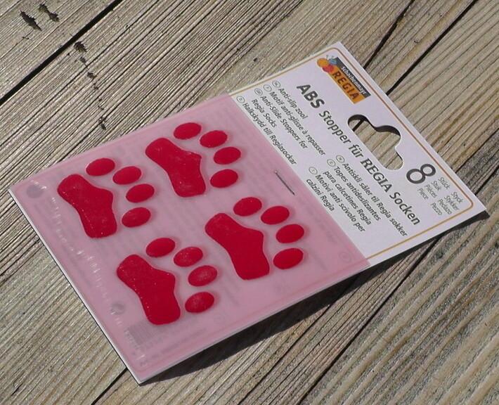 ABS Stopper Pfötchen für Socken 8 St