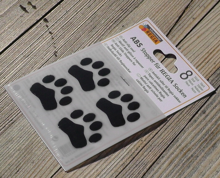 ABS anti-slip paws for socks 8 pieces